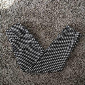 H&M Gingham Dress Pants - Size XS